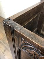 Small 18th Century Carved Oak Coffer (6 of 13)