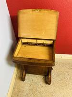 Walnut and Ambonya Davenport Desk (8 of 15)