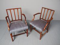 Antique Set of 8 George III Mahogany Dining Chairs (7 of 11)