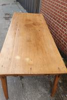 French Fruitwood Kitchen Dining Table (5 of 15)