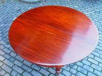Large George IV Mahogany Dining Table by M. Willson, London (19 of 20)