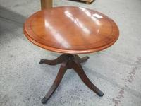 Small Lamp Table on Splayed Legs