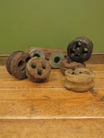 Antique Maritime Ship Deadeye Rigging Blocks & Scupper Ports, Old Wreck Salvage (2 of 13)