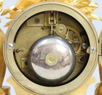 French Napoleon III Bronze Gilt Mantel Clock by Miroy Freres (13 of 13)