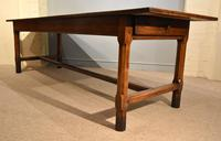 19th Century French Cherry Wood Farmhouse Table (5 of 8)