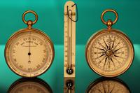 Victorian Pocket Barometer Travel Compendium c1890 (4 of 12)