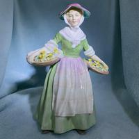"""Rare Royal Doulton Figurine, HN1712, """"Daffy Down Dilly"""" (2 of 11)"""