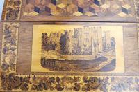 A Superior Tunbridge Ware Fitted Lap Desk Hever Castle C. 19thc (2 of 14)