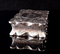 Antique silver snuff box, Deakin and Francis (5 of 12)