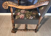 Carved Oak Chair (15 of 19)