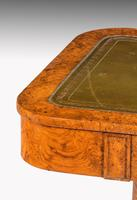 Regency Period Burr Amboyna Library / Writing Table (5 of 6)