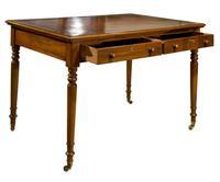 Early Victorian Mahogany Writing Table (2 of 9)