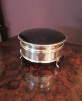 George V Silver & Tortoiseshell Ring Box (5 of 5)