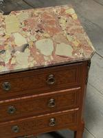 French Parquetry Commode Chest of Drawers (26 of 27)