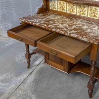 Victorian Walnut Washstand (3 of 9)
