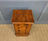 Pair of Burr Walnut Bedside Chest by Heal and Son (14 of 16)