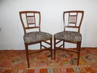 E.W.Godwin Pair of Chairs (5 of 6)