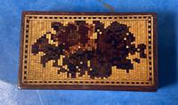 Rosewood & Mosaic Tunbridge Ware Box (3 of 12)