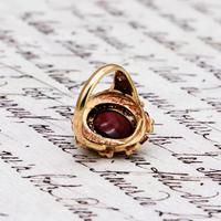 The Vintage Ornate Set Cabochon Ring (6 of 6)