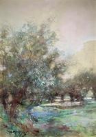 Thomas William Morley Bonhams Prov Kent Country watercolour Painting (2 of 12)