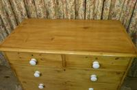 Victorian Stripped Pine Chest of Drawers - Carriage Paid Most Areass (3 of 9)