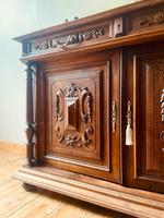 French Antique Sideboard / Buffet / French Walnut Buffet (4 of 10)