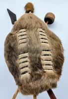 African Cow Hide Mini Zulu Shield (4 of 8)