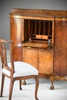 Early 20th Century Walnut Writing Cabinet (9 of 12)