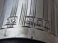 Walking Stick Cane 1925 Hallmarked Solid Silver Collar Macassar Ebony Shaft (8 of 11)