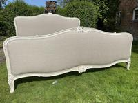 Superkingsize French painted bed (5 of 6)