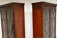 Pair of Antique Georgian Style Mahogany Bookcases (10 of 11)