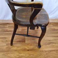 Oak Desk Chair (3 of 11)