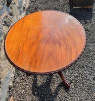 Chippendale Carved Bird-cage Tripod Table (4 of 8)