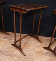 Regency Nest of Tables Antique Circa 1920 (4 of 8)