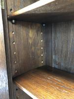 Early 20th Century Antique Oak Bureau Bookcase (5 of 16)