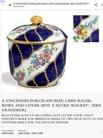 Vincennes Sèvres 18th Century Porcelain Sugar Bowl (9 of 9)
