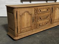 Superb Long French Oak Dresser Base (11 of 15)