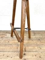 Pair of Rustic Wooden Cutler's Stools (9 of 10)