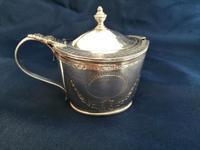 Georgian Silver Oval Mustard Pot (8 of 9)