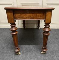 Fine Rare Burr Walnut Writing Table or Desk (17 of 20)