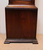 Small Oak Westminster Chime Longcase Clock (5 of 10)