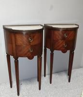 Superb Pair of French Mahogany Cabinets (4 of 9)