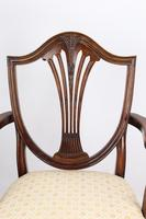 Edwardian Hepplewhite Mahogany Desk Chair (6 of 13)