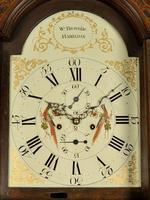Mahogany Painted Dial Inlaid Longcase Clock - William Bownlie of Hamilton (5 of 8)
