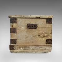 Antique Mail Chest, English, Pine, Carriage, Merchant, Victorian c.1880 (10 of 12)