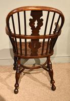 Ash & Elm Low Back Windsor Armchairs (9 of 9)