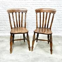 Fine Pair of Windsor Lathback Side Chairs (2 of 5)
