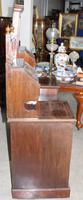 Large 1900's Mahogany & Rosewood Dressing Table with Inlay (3 of 5)