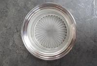 Sterling Silver & Frosted Glass Butter Dish (2 of 4)