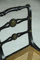 Single Ebonised 19th Century Chair (12 of 12)